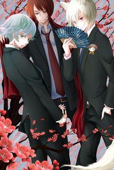 Oh my~ Kamisama Hajimemashita - Mizuki, Kurama, and Tomoe Anime Gifs, Manga Anime, Anime Art, Kamisama Kiss, Awesome Anime, Anime Love, Kawaii Anime, Tomoe And Nanami, Kamigami No Asobi