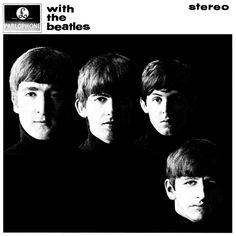 "The very famous ""With The Beatles"" album cover.   Contrasts between light and shadow, black and white, are united, and represent endless completeness, based on the endless musical frequency, of Abbey Road.   Motives of light and shadow, can be found in Da Vinci drawings, that also of course represent endless completeness."