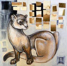 Animalia IV: Black Footed Ferret by Lynnette Shelley