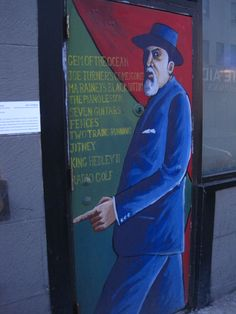 22 best from august images on pinterest august wilson pittsburgh oakland painting honoring august wilson fandeluxe Choice Image