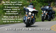 watch out for motorcycles | Hard Ride, a Motorcycle Pilgrimage | Key West or Bust !
