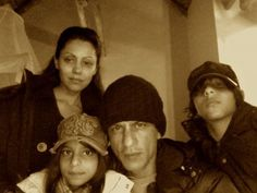 SRK with his family touring South Africa...