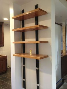 book shelving: best strength & aesthetic for least $