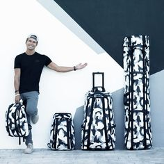 Blend in and stand out at the same time with Ski Bag in White Camo.  Sportique 30f1005a000ab