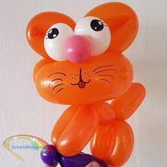 Ballon Kat  Schminkkoppies Mariëlle Heuft