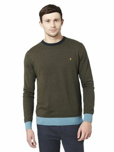 A stylish solution for the autumn chill is the Farah Hawke Crew Neck Jumper, from the Farah Vintage line. Jumper, Crew Neck, Stylish, Sweatshirts, My Style, Long Sleeve, Sleeves, Sweaters, Mens Tops