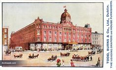 1905 – Todd Burn's Department Store, Mary Street, Dublin Dublin Street, Dublin City, Old Pictures, Old Photos, Vintage Photos, Images Of Ireland, Ireland Homes, Photo Engraving, Arran