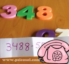 O número do seu telefone é...