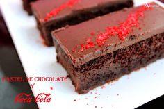 ALIMENTA: PASTEL DE COCA COLA Y CHOCOLATE