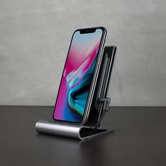 CoreStand Wireless Charger - qi wireless charging compatible with iPhone iPhone 8 Plus & iPhone X - HOMICREATIONS - iPhone 8 qi wireless charging docks, sustain heated scarf, minimal designer accessories Iphone Stand, Iphone Se, Iphone 8 Plus, New Ipad Pro, Ipad Pro 12 9, Ipad Air Case, Mac Os, Apple Ipad, Charger