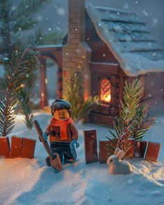 ~ Lego Mocs Holidays ~ Christmas ~ Замело ❄️☃ Snowfall ✨