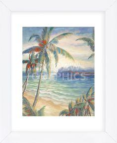 Tropical Breeze I (Framed)