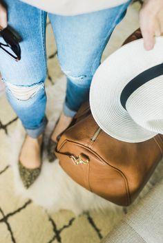 Stylish Travel Bags For Summer Getaways featuring Splendid