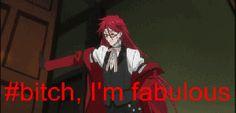 Random funny stuff (anime) - YES GRELL - Wattpad