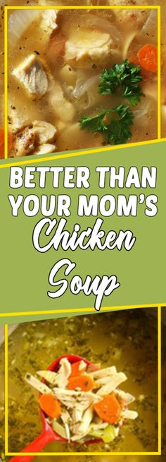 """Welcome again to """"Yummy Mommies"""" the home of meal receipts & list of dishes, Today i will guide you how to make """"Better than Your Mom's Chicken Soup"""". I made this Delicious recipe a few"""