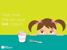 She's so cute you gave her a second chance. Now do the same for your yogurt cup. #RECYCLE Follow this link to learn more and enter for a chance to win a $100 giftcard each week: http://bit.ly/1esuINT