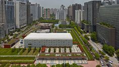 The United States Consulate General in Guangzhou represents a new era in the design of diplomatic facilities. Representing American values while respecting Guangzhou's physical and cultural landscape, the project consists of seven structures across Security Architecture, Public Architecture, Guangzhou, United States, Landscape, Design, Buildings, Design Comics, Corner Landscaping