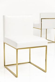 Sleek and stylish, these beautiful dining chairs will add some class to your dining room. Available in White or Black Croc Faux Leather and your choice of chro