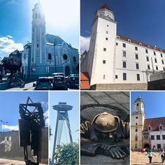 The beautiful capital of Slovakia is Bratislava. It is hard to imagine a people group so pushed and pulled in there own land.   With a history spanning a thousand years it is only recent history (post Velvet Revolution) that these people have had there own authority and leadership.    Still a beautiful place to visit.    #sapphirebluetravelfamily #sapphirebluetravel💎💙✈⚓ #bratislava🇸🇰 #slovakia #daytripfromvienna #couplestravel #traveleurope #europetravel Day Trips From Vienna, European River Cruises, Bratislava Slovakia, Pushes And Pulls, Travel Photos, Travel Tips, European Destination, Beautiful Places To Visit, Blue Sapphire