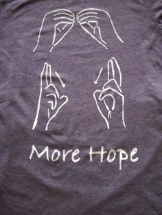 Sign Language Shirt by marie2379 on Etsy, $12.00