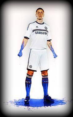 #Fernando torres #Chelsea new kit