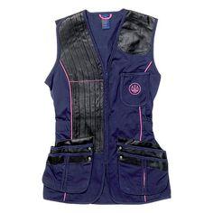 womens guns purple | Beretta Womens Shooting Vest - Navy/Pink | Uttings.co.uk