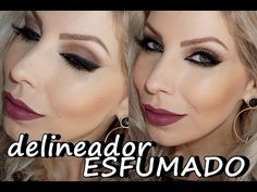 Delineado Esfumado Fácil por Lu Ferraes - YouTube