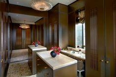 Skyline Penthouse - Master Dressing Room - Suzanne Lovell Inc.