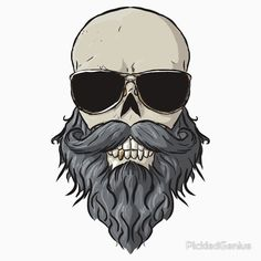 Bearded Skull | Unisex T-Shirt