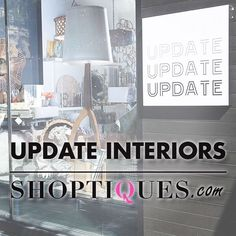 So excited to announce that you can now shop Update Interiors on @shoptiques! Take a look at our #boutique. #homedecor