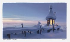 See beautiful concept art for the new Moomin animated TV show, Moominvalley - News - Digital Arts
