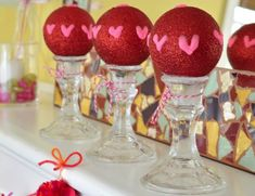 Decorating for Valentine's Day has never been easier! 5 Minute Homemade Valentine's Day Decorations are the cutest Dollar Store crafts around.