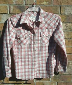 Wild West Wear CABI Red Plaid Western Pearl Snaps Riding Cowgirl Rodeo Shirt | Clothing, Shoes & Accessories, Women's Clothing, Tops & Blouses | eBay!