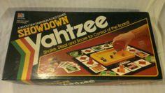 Vintage Showdown Yahtzee by Milton Bradley 1991 Family Board Game | Can't Resist Vintage
