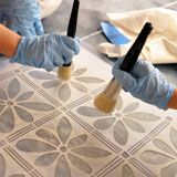 "Awesome site with great ""How to Stencil"" tips - decorate walls, furniture, floors, ceilings, fabric, and more."