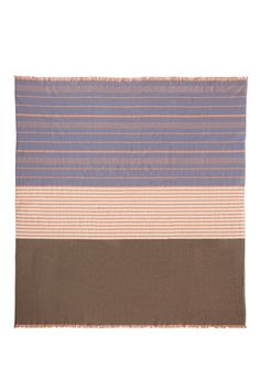 Our blankets are soft and sturdy works of art for everyday life, comfort  and utility. Inspired by the minimalist paintings of Agnes Martin, each  color and stripe is deliberate and thoughtful. These blankets are made with  100% cotton from a small Virginia fiber farm and custom spun and dyed for  Herron. Each blanket is woven in Chicago in a newly revived artisan weaving  mill on Chicago's Northwest side and stitched by a local family tailoring  company.   Made in Chicago 100% Virginia…
