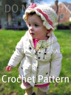 Infant to Adults Sunhat and Baby Summer Slipper Sandals Crochet Pattern PDF 450. $4.95, via Etsy.