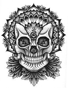 post it wallpaper – Page 26090032890 Tattoo Drawings, Art Drawings, Bike Tattoos, Sugar Skull Tattoos, Dark Images, Skull Design, Tattoo Designs, Tattoo Ideas, Designs To Draw