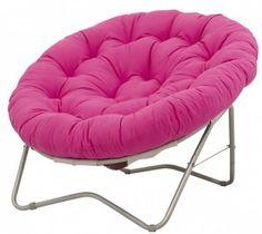 Hot Pink Papasan Chair