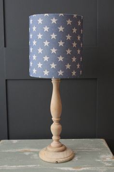 Star Denim Lampshade