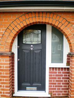Updated 1930's style front door