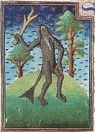 Afbeeldingsresultaat voor strange creatures medieval illustrations