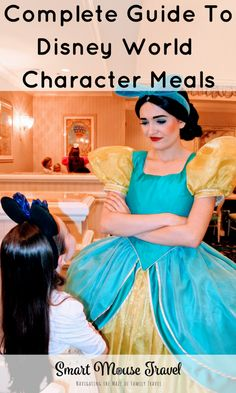 Disney World Character Dining: Every Disney World Character Meal - Smart Mouse Travel Disney World Florida, Walt Disney World Vacations, Florida Vacation, Florida Travel, Travel Europe, Disney World Guide, Disney World Tips And Tricks, Disney Cruise Tips, Disney Parks