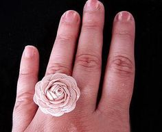 Valentine craft ideas on making rings - via @Craftsy