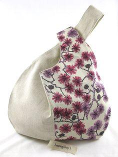 Resultado de imagen de Japanese knot bag pattern - Google Search