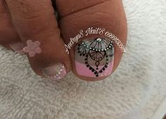 Pedicure Nail Art, Toe Nail Art, Toe Nails, Toe Designs, Nail Art Designs, Purple And Pink Nails, Diana, Hair Beauty, Angel