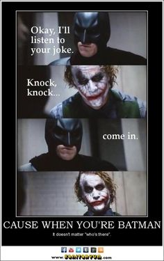 truth.  this is for my love of batman; he's always been my favorite. and for mr. heath ledger; the best ones always die young.