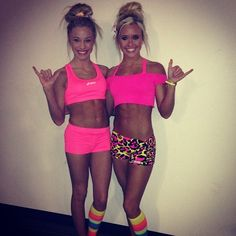 Theres girls just so happen to be my inspiration in life <3  Jamie Andries .  Peyton Mabry .