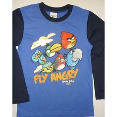 Póló (Angry Birds) - Hosszú ujjú - Fashion4kids gyerekruha webáruház - Magyar gyerekruhák