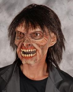 Mr. Living Dead SKU: M8004 Terrifying Zombie Sculpt with great visibility, comfortable and easy wearability Zagone Masks & Costumes | Zagone Studios